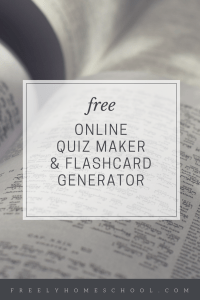 Quiz Maker & Flashcard Generator
