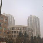 【大連風景】大気汚染指数396の様子(★12月24日追記)
