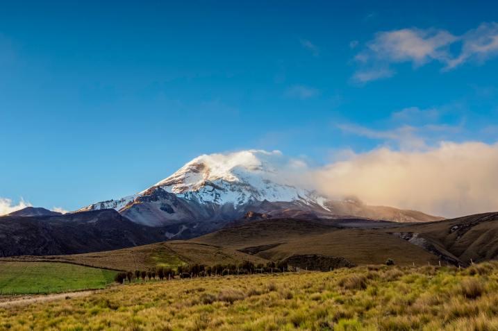 Chimborazo Volcano in Ecuador