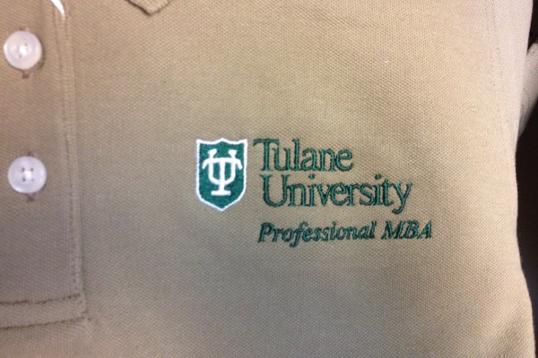 The Tulane PMBA Polo Shirt