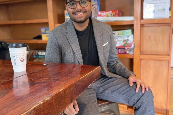 Rishawn Dindial, Tulane MD/MBA student, founder & CEO of Memoryz