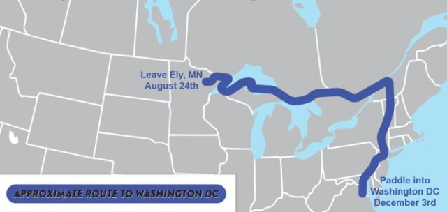 Paddle to DC map