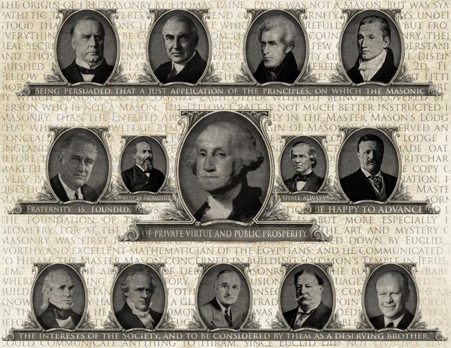 United States Masonic Presidents Freemason Information