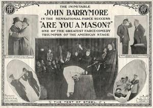 1915 silent film starring John Barrymore