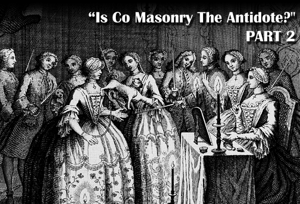 co masonry, mixed masonry, women, secret societies