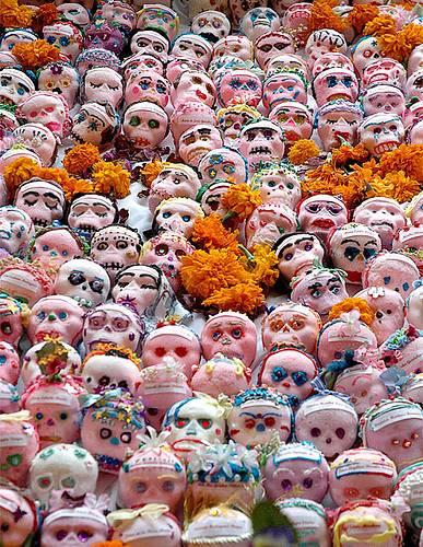 Día de los Muertos sugar skulls