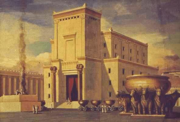 temple, solomon, art, illustration, painting