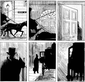 Alan Moore Eddie Campbell From Hell panels