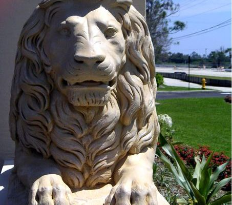 lion of the tribe of judah, Jesus, lion statue