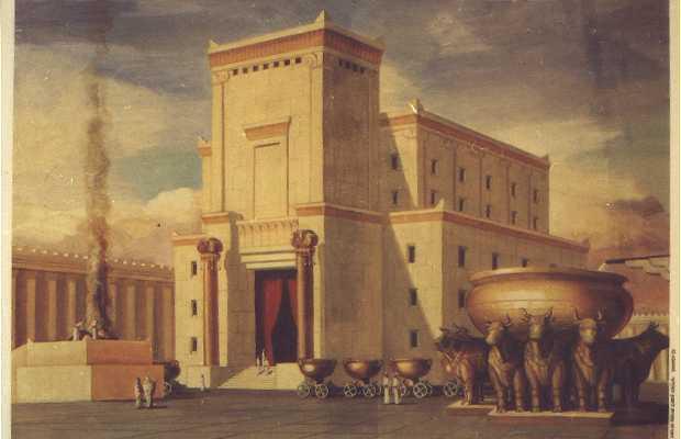 KST, Solomon, first temple, Sanctum Sanctorum