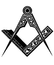 square, compass, masonic symbol, logo of Freemasonry, master mason