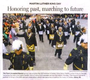 DGM Michael T. Anderson PHA MLK Parade