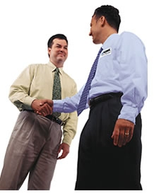 THERE IS MEANING IN YOUR HANDSHAKE