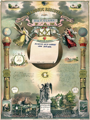 register, masonic paper, freemason history