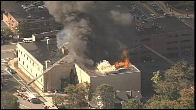 Historic Quincy, MA Temple Gutted By Fire