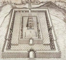 Samuel Lee depiction of Solomons Temple