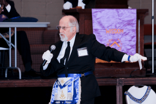 Frederic Giving The Charge At Grand Session, MWPHGLTX