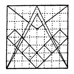 Derivation of symbols of Master Mason