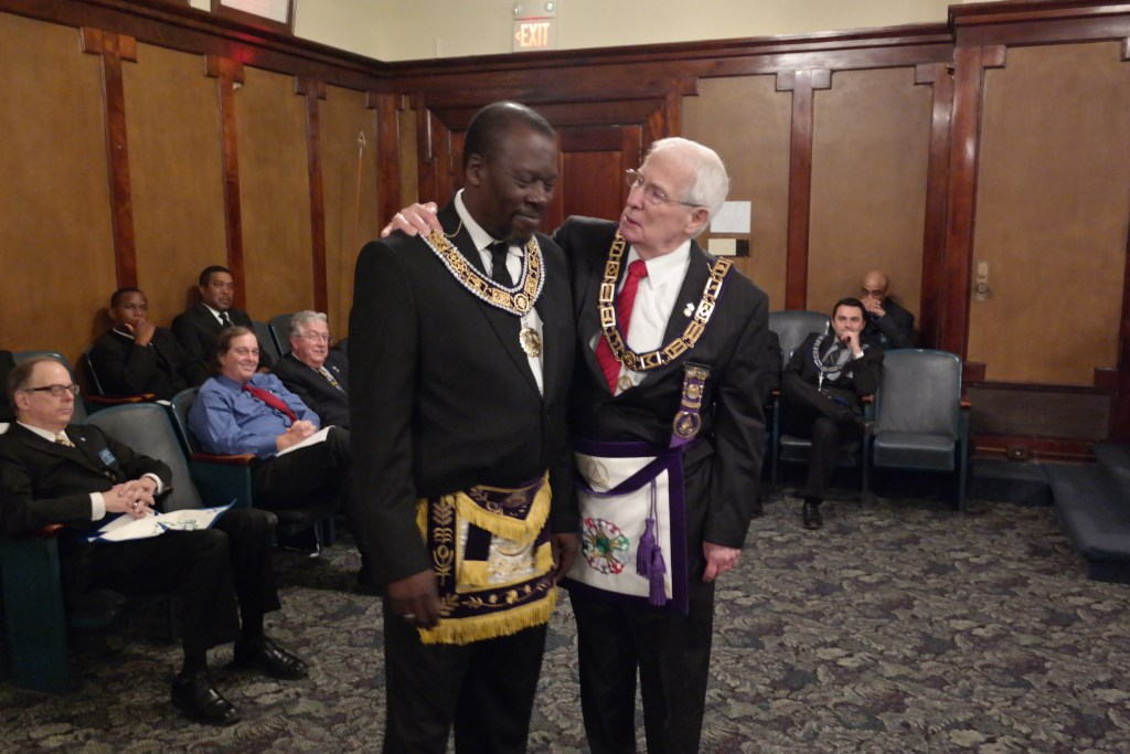 A Historic Occasion Between Two Texas Grand Lodges