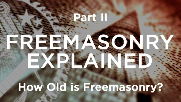 age of freemasonry, history