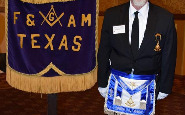 Grand Lodge, Frederic L. Milliken, masonic banner