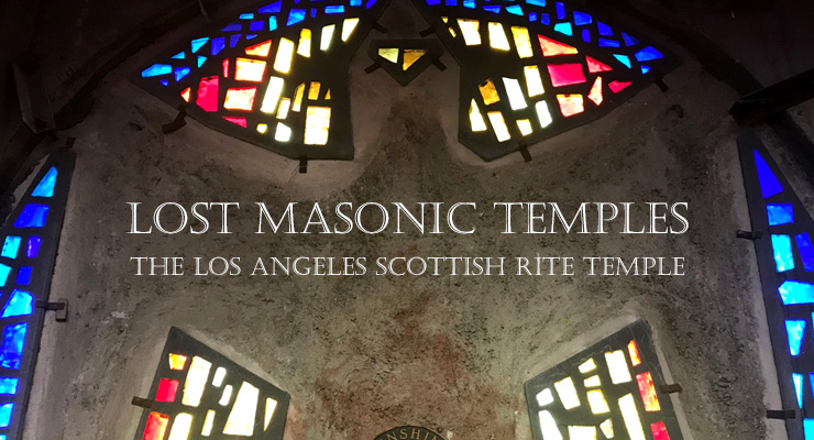 Lost Masonic temple, Los Angeles,