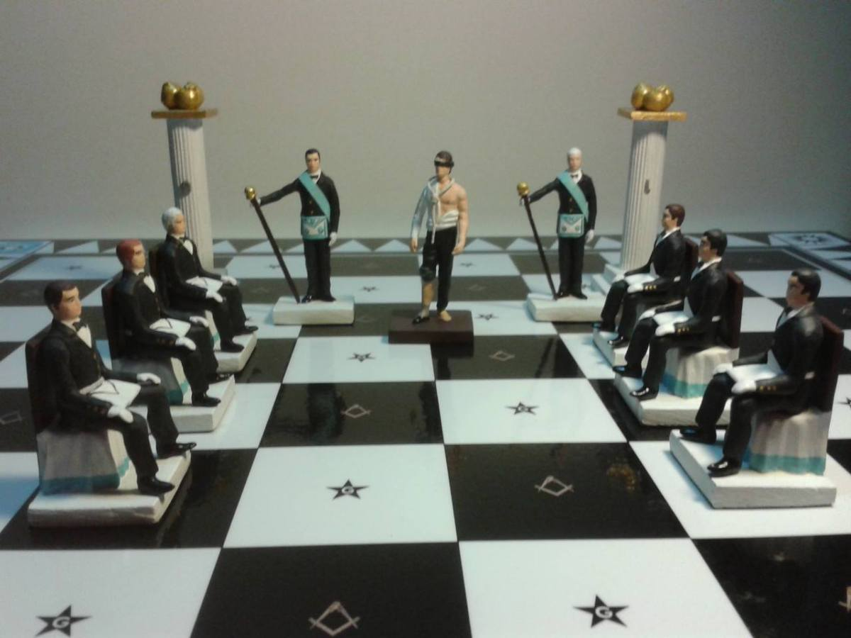Esotericism of the Game of Chess Related to Freemasonry