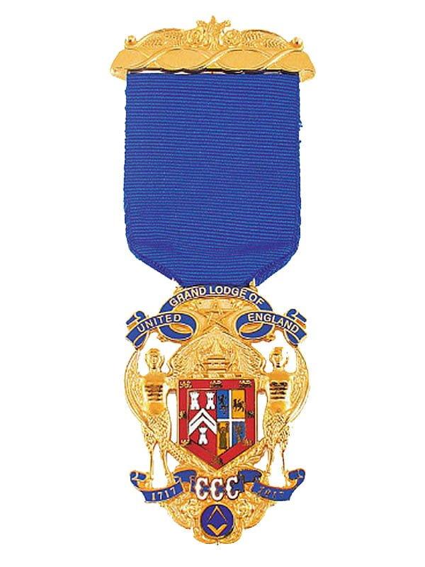 Wearing the Tercentenary Jewel