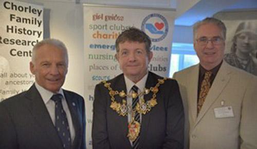 Freemasons support Lancashire Family History and Heraldry Society