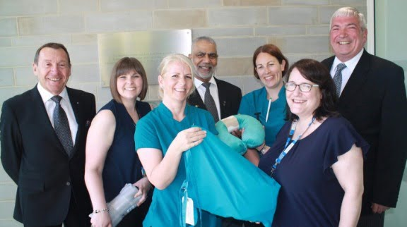 Freemasons Help Launch Harrogate District Hospital's Comfort Bags Initiative