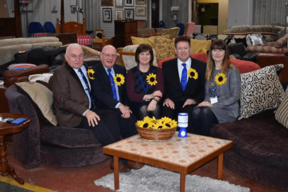 Freemasons give £20,000 to Ulverston's St Mary's Hospice