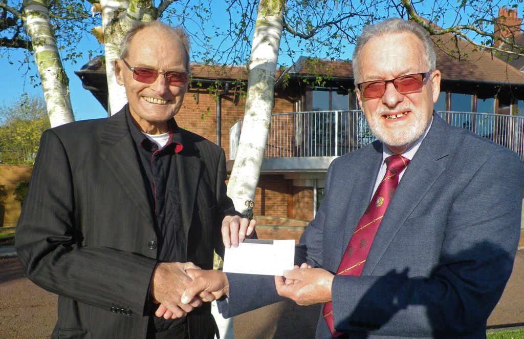 Freemasons make donation to Lancashire and South Cumbria Kidney Patients Association