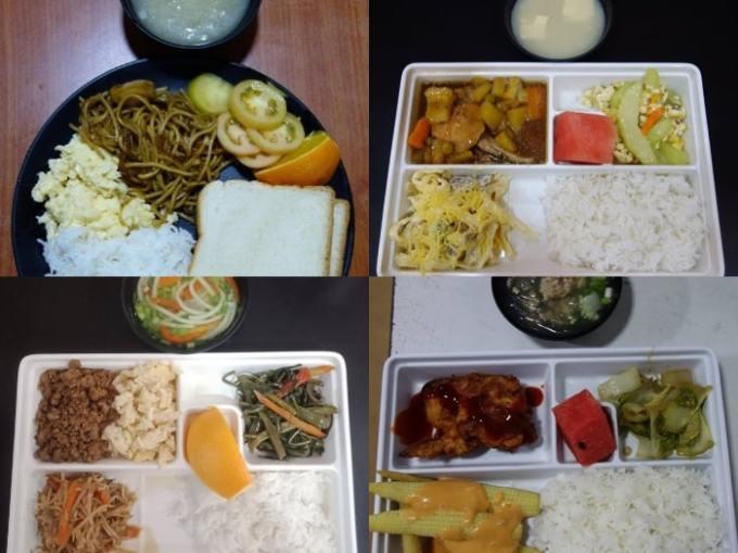 サウスピークオリジナル校の食事