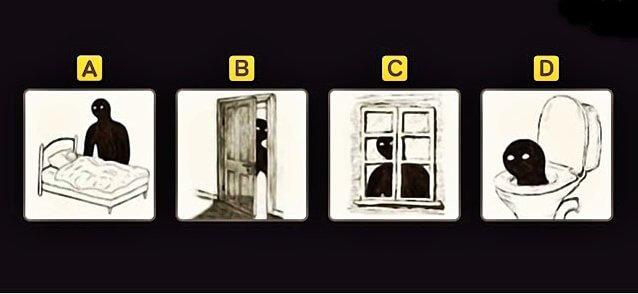 Melyik kép NEM tetszik? Mély és találó félelem teszt
