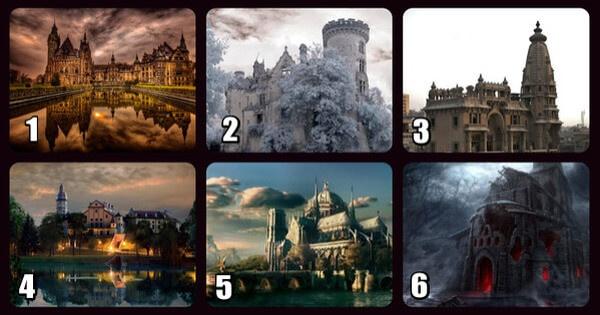 Teszt – Elvarázsolt kastély, mely feltárja a lélek legmélyebb titkait
