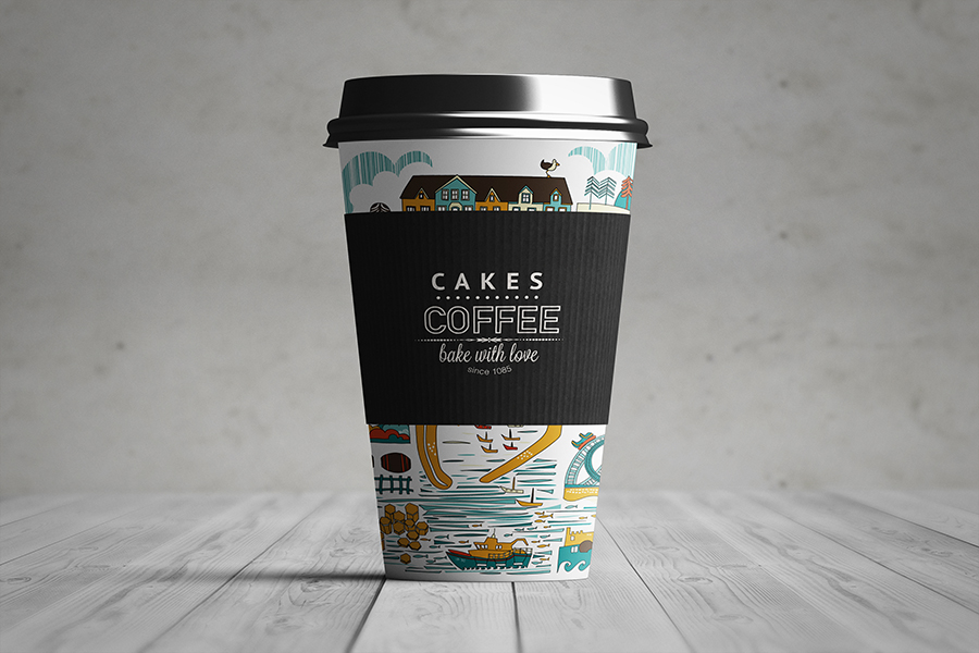 Download Free Classy Coffee Cup Mockup - Free Mockup ZoneFree ...