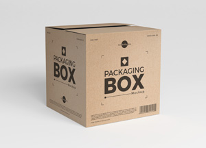 Download Free Packaging Delivery Box Mockup - Free Mockup ZoneFree ...