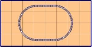Free model railroad layout plans o gauge o-27 lionel mth atlas