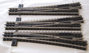O gauge, O-27, model railroad, track, Gargraves, layout, plans