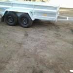 Freemoto - Przyczepka-Przyczepa 2-osiowaDMC1400kg hamulec najazdowy-dok