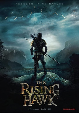 The Rising Hawk - Movie Jacket