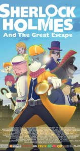 Sherlock Holmes and the Great Escape (2019) (Animation)