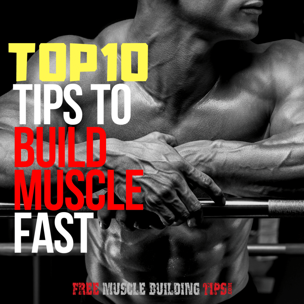 top tips to build muscle fast