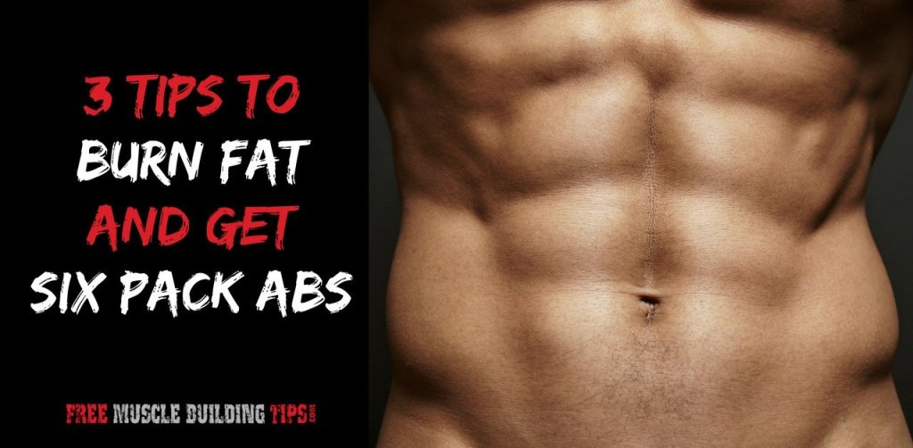 3 tips to six pack abs