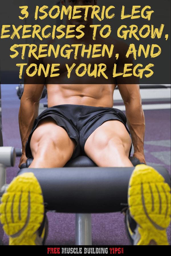 isometric leg exercise