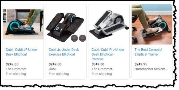 under desk elliptical