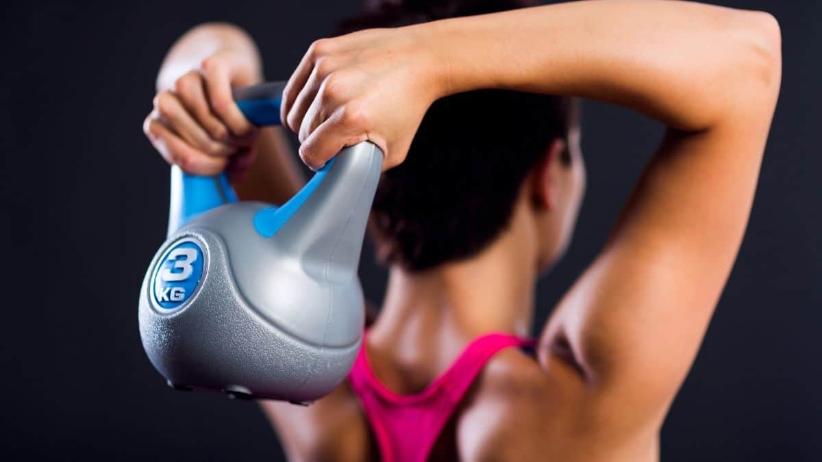 kettlebell workout for back fat