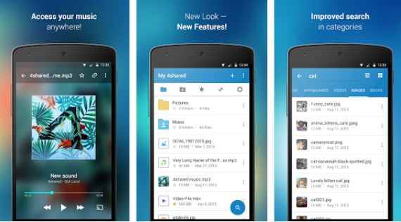 4shared music apk android
