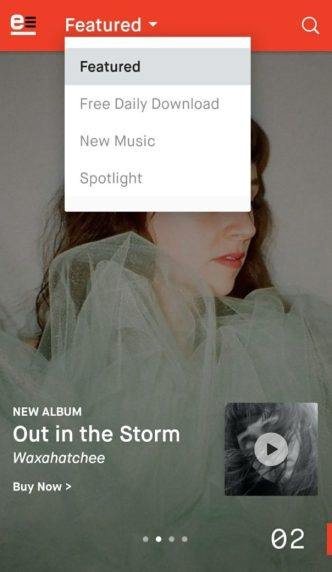 emusic featured songs