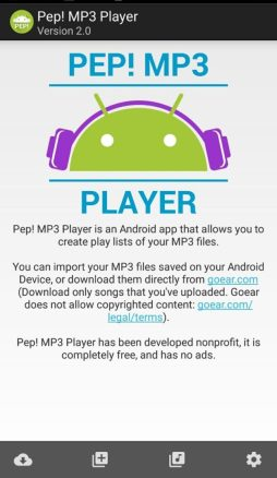 pep mp3 downloader android
